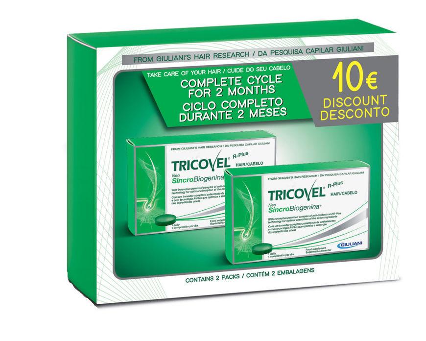 Picture of Tricovel Comprimidos Neosincrobiogenina Pack Duo