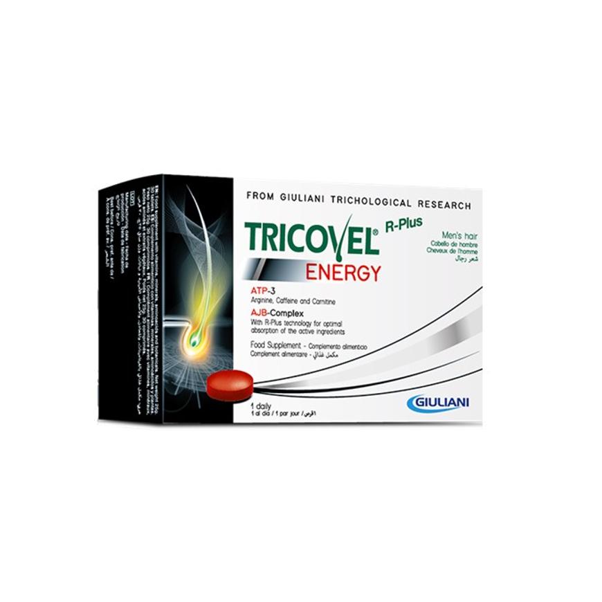 Imagem de Tricovel 30 Comprimidos Energy Homem