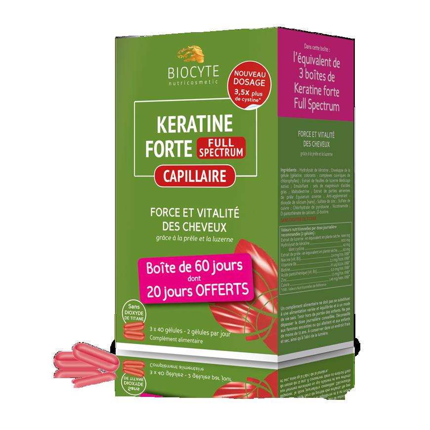 Imagem de Keratine Forte Extra Plus 120 Cápsulas - 20 Dias de Oferta